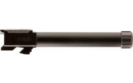 """SilencerCo AC50 Threaded Barrel Glock 22 40 Smith & Wesson 6.3"""" 9/16""""x24 tpi Black Nitride"""