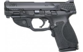 Smith & Wesson 12414 M&P9 M2.0 Compact FS15rdw/GRN Laser Thumb Sfty