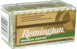 Remington R22M1 Magnum Rimfire 22Mag Jacketed Hollow Point 40 GR - 50rd Box