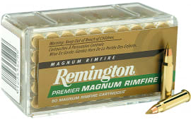 Remington PR17HM1 Premier Gold Box 17 HMR AccuTip-V 17 GR - 50rd Box