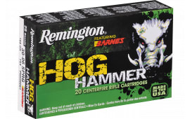 Remington PHH308W2 Hog Hammer TSX Boat Tail 308 Win/7.62 NATO 168 GR - 20rd Box
