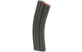ASC AR-15 .223/5.56 40rd Magazines, Black Marlube Stainless Steel Body, Orange Follower