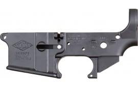 Yankee Hill 125 Stripped Lower Receiver AR-15 Aluminum Black