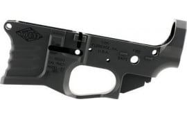 Yankee Hill 125-BILLET Billet Lower Receiver AR-15 Rem/5.56 NATO Black