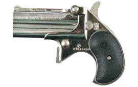 Cobra Derringer Big Bore .380 ACP Caliber Over/Under Chrome / Black CB380CB