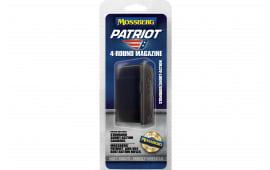 Mossberg 95347 Mossberg 4 x 4 Patriot Short Action 4 rd Black Finish