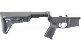 Ruger 8516 AR-556 Lower AR-15 Rifle Black Hardcoat Anodized