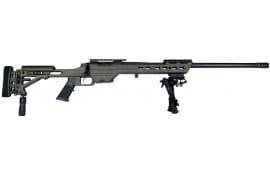"MasterPiece Arms 338BA Bolt Action 338 Lapua Magazine 26"" 5+1 Adjustable Black Cerakote"
