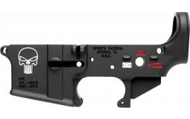 Spikes STLS015-CFA Lower Forged Punisher AR Platform Black