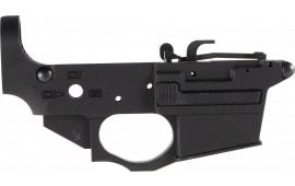 Spikes STLS920 Stripped Lower Spider AR Platform Rifle Black Hardcoat Anodized