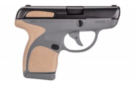 "Taurus 1007031218 Spectrum Double 380 ACP 2.8"" 6+1/7+1 Grip Blk/Gray/Bronze"