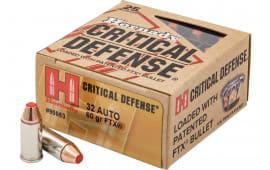 Horn 90063 Critdef 32 ACP 60 FTX CD - 25rd Box