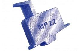 McFadden Machine #6 S&W M&P 22 Caliber Amber Finish