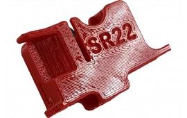 McFadden Machine #4 Ruger SR22 22 Caliber Amber Finish