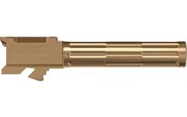 """Lantac 01GBG19NTHBR 9INE Glock 19 9mm Luger 4.01"""" Bronze Fluted"""