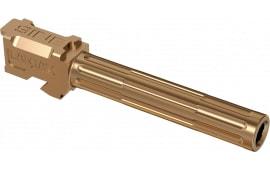 """Lantac 01GBG17NTHBR 9INE Glock 17 9mm Luger 4.48"""" Bronze Fluted"""