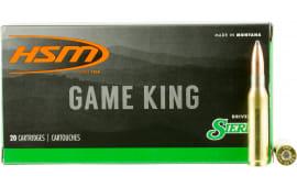 HSM 7MM088N Game King 7mm-08 Remington 150 GR SBT - 20rd Box