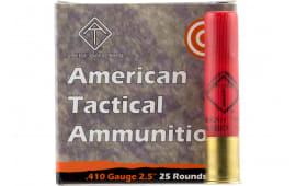 """ATI AYAV410RSBX 410 GA 2.5"""" Rifled Slug Shot - 25rd Box"""
