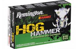 Remington PHH223R4 Hog Hammer TSX Boat Tail 223 Remington 62 GR - 20rd Box