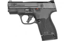 "Smith & Wesson 13248 M&P9 Shield Plus, 9MM Semi-Auto Pistol, 13/10 Rd Mags No Thumb Safety, 3.1"" BBL"