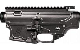 ZEV RECSET308BIL Large Frame Billet Receiver Rifle 7075 T6 Aluminum Black Hardcoat Anodized