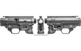 Spikes STSBX20 Jack-10 308 Billet AR Platform 7075 T6 Aluminum Black Hardcoat Anodized