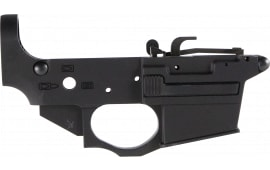 Spikes STLS920 Stripped Lower Spider AR Platform Rifle Black Hardcoat Anodized