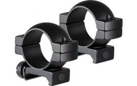 "1"" Scope Rings 2 Screws Per Ring Medium Height Weaver/Picatinny Rail mount - Black - TG8960B1"