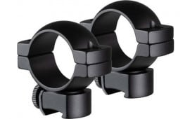 "1"" Scope Rings 4 Screws Per Ring Medium Height Rimfire/Airgun Mount - Black - TG8961B3"