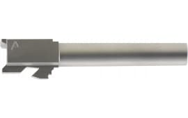 """Agency Arms SLG17NTSS Standard Line Compatible with Glock 17 9mm 4.48"""" Stainless Steel"""