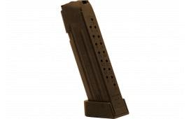 Jagemann 12353 Jag 17 9mm Luger 18 rd G17 Polymer Brown Finish