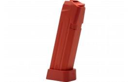 Jagemann 12394 Jag 17 9mm Luger 18 rd G17 Polymer Red Finish