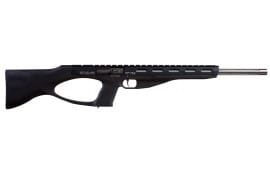 "Excel EA22101 Accelerator Rifle MR-22 Semi-Auto 22 WMR 18"" 9+1 Synthetic Stock Black"