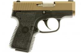 "Kahr Arms CW3833BB CW380 .380 ACP Semi-Auto Pistol, 2.58"" Barrel, 6 Rounds, Black/Burnt Bronze"
