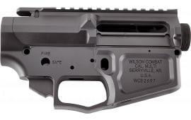 Wilson Combat Trlowuppbil AR Style Lower/Upper AR-15 AR Platform 7075 T6 Aluminum Black Armor-Tuff