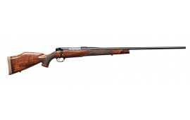 """Weatherby MDXS240WR4O Mark V Deluxe Bolt 240 Weatherby Magnum 24"""" 5+1 Walnut Stock Blued"""