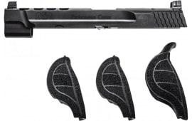 "Smith & Wesson 11872 Performance Center Slide Kit NMS 9mm 5"" Adjustable Black Amornite"
