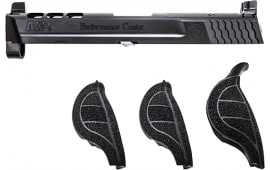 "Smith & Wesson 11873 Performance Center Slide Kit NMS 9mm 4.25"" Adjustable Black Amornite"