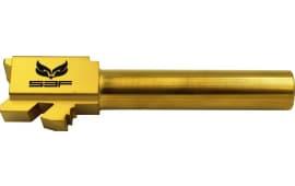"S3F G19TIN Glock 19 9mm 4"" Gold Titanium Nitride"
