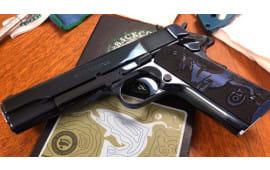 """Colt Defense O1073BSTSDB GOV'T 5"""" .38SUPER Cobalt Blue Polished Slide & Frame"""