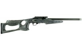 "Magnum Research MLR22BP Magnum Lite Barracuda Semi-Auto 22 LR 17"" 10+1 Black Walnut Stock Black"
