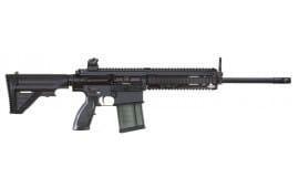 "HK MR762LRPLCA1 MR762A1 Long Rifle Package II Semi-Auto 308 Winchester/7.62 NATO 16.5"" 10+1 OR w/Scope 5-Position G28 with Adj Cheekpiece FDE Stock Black"