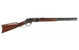 """Taylors and Company 2043 1873 Lever 357 Magnum 20"""" 10+1 Walnut Stock Case Hardened"""
