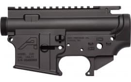 Aero Precision APCS100002 AR-15 Stripped Receiver Set AR Platform Black Hardcoat Anodized