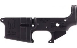 Spikes STLS021 Stripped Lower Spartan AR-15 Black