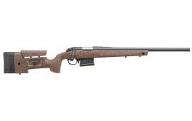 "Bergara Rifles B14S352 B-14 HMR Bolt 6.5 Creedmoor 22"" 5+1 Synthetic/Mini-Chassis Brown Stock Blued"