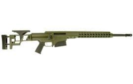 "Barrett 14367 MRAD Bolt 308 Winchester 22"" 10+1 Folding OD Green Stock OD Green/Black"