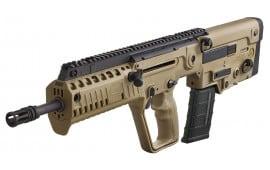 "IWI US XFD16BLK Tavor X95 Semi-Auto 300 AAC Blackout/Whisper (7.62x35mm) 16.5"" 30+1 Polymer FDE Stock Black"