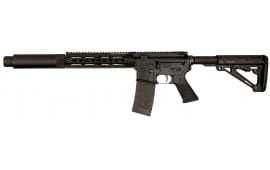 """Tactical Solutions TSARC300K TSAR-300 Complete Semi-Auto 300 AAC Blackout/Whisper (7.62x35mm) 16.1"""" 10+1 6-Position Black"""