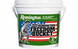 Remington L223R3BC Freedom Bucket 223 Rem 55 GR FMJ 300 Bucket/4 Case - 300rd Box